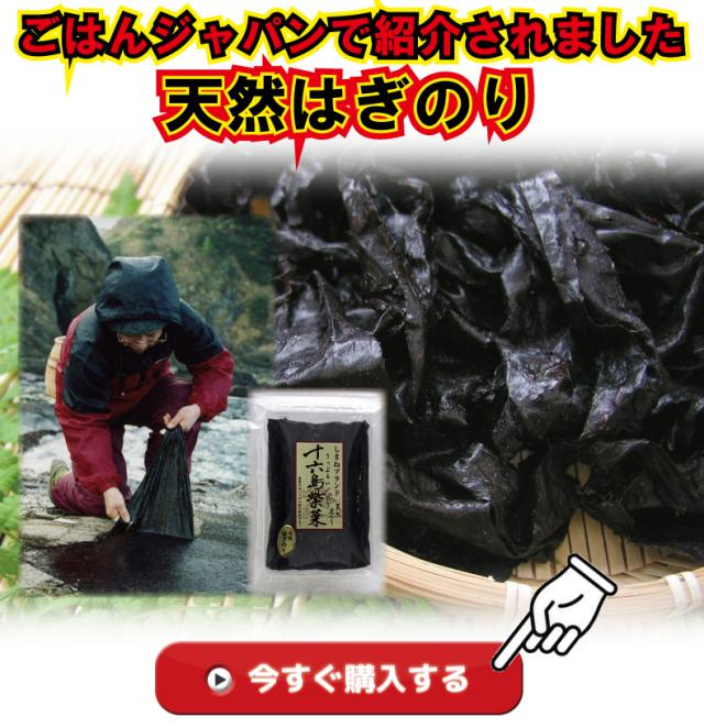 ごはんジャパンで紹介されたはぎのり関連商品はココ!
